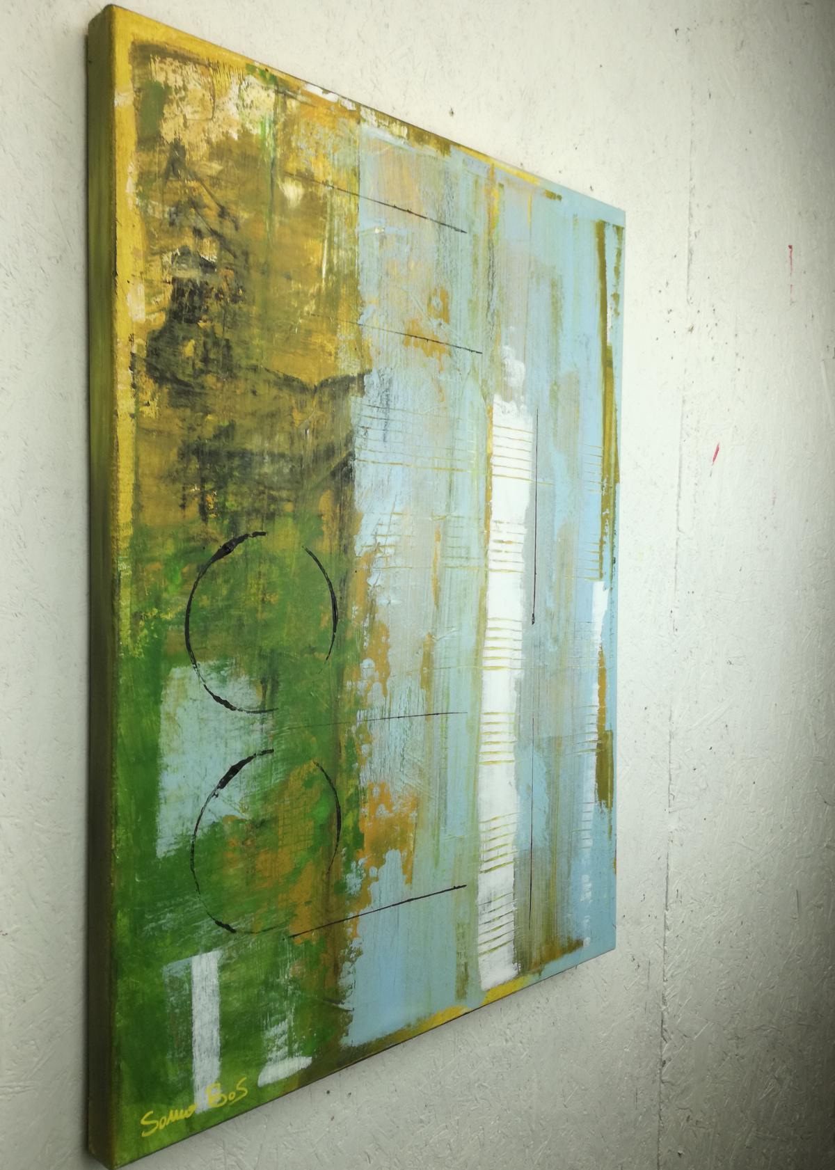dx forest.jpg - dipinti moderni  fatti a mano 80x60 olio su tela