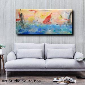 paesaggio astratto moderno c068 300x300 - dipinto astratto 150x80 per casa moderna