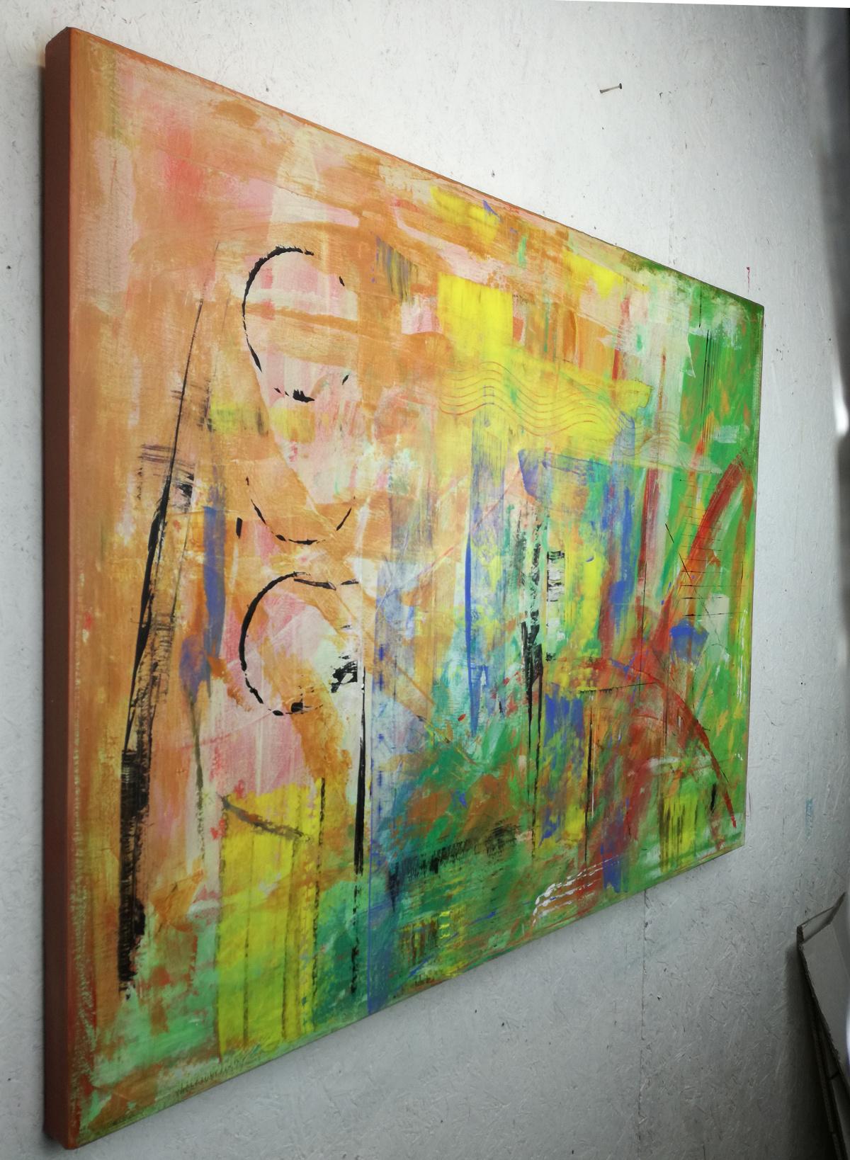 quadri moderni fatti a mano 120x90 xxl-1
