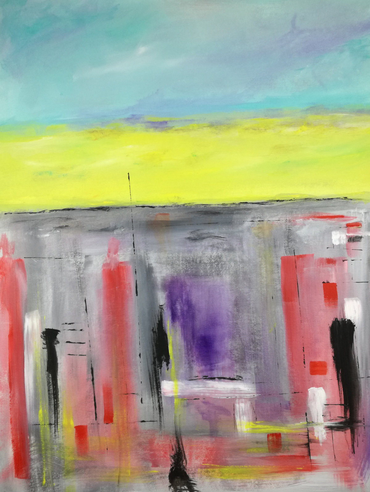 quadri astratti geometrici c065 - dipinti moderni 80x60