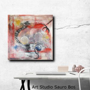 quadri astratti moderni c067 300x300 - quadro fatto a mano su tela con cornice argento 120x70