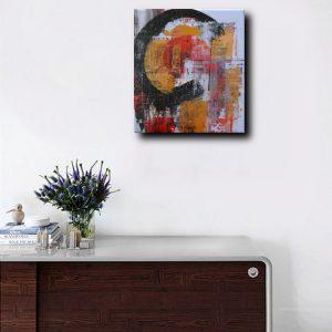 quadri astratti per arredamento moderno c062 300x300 - Quadri Astratti Verticale