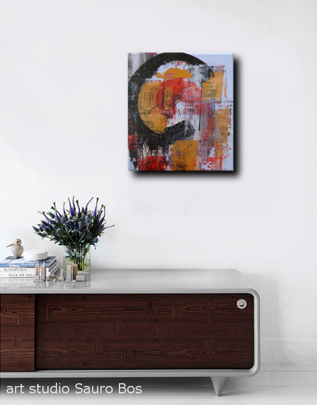 quadri astratti piccoli-40x45 | sauro bos
