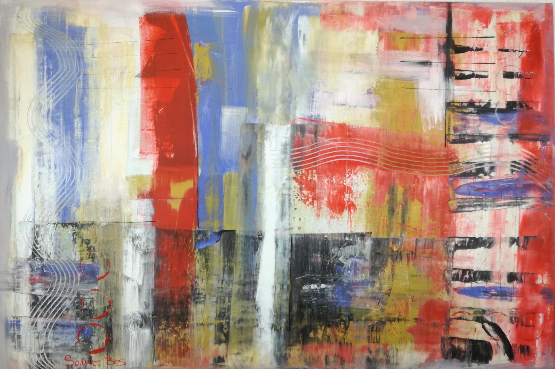 quadri moderni art - quadri moderni per arredamento contemporaneo 120x80 rosso