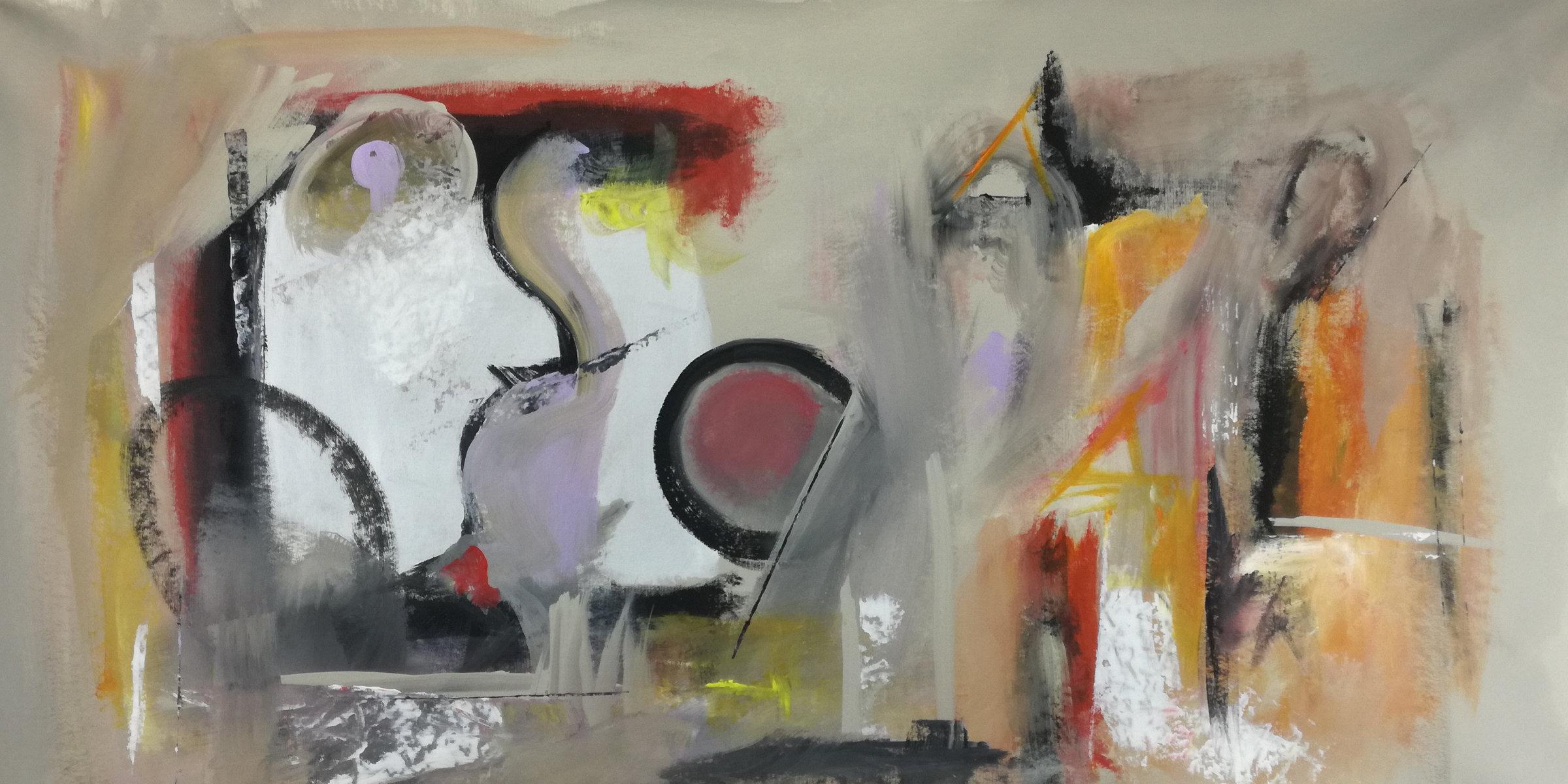 quadri astratti c083 - dipinti grandi dimensioni astratti