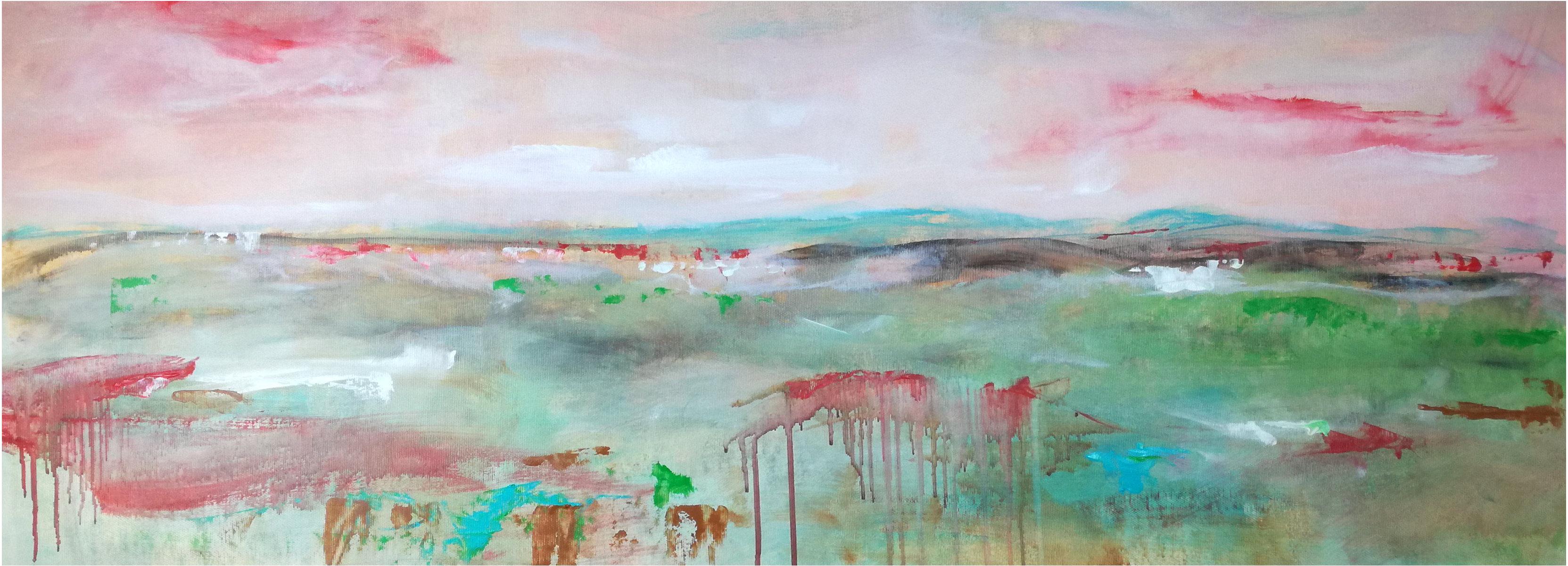 quadri-moderni-paesaggio-toscano