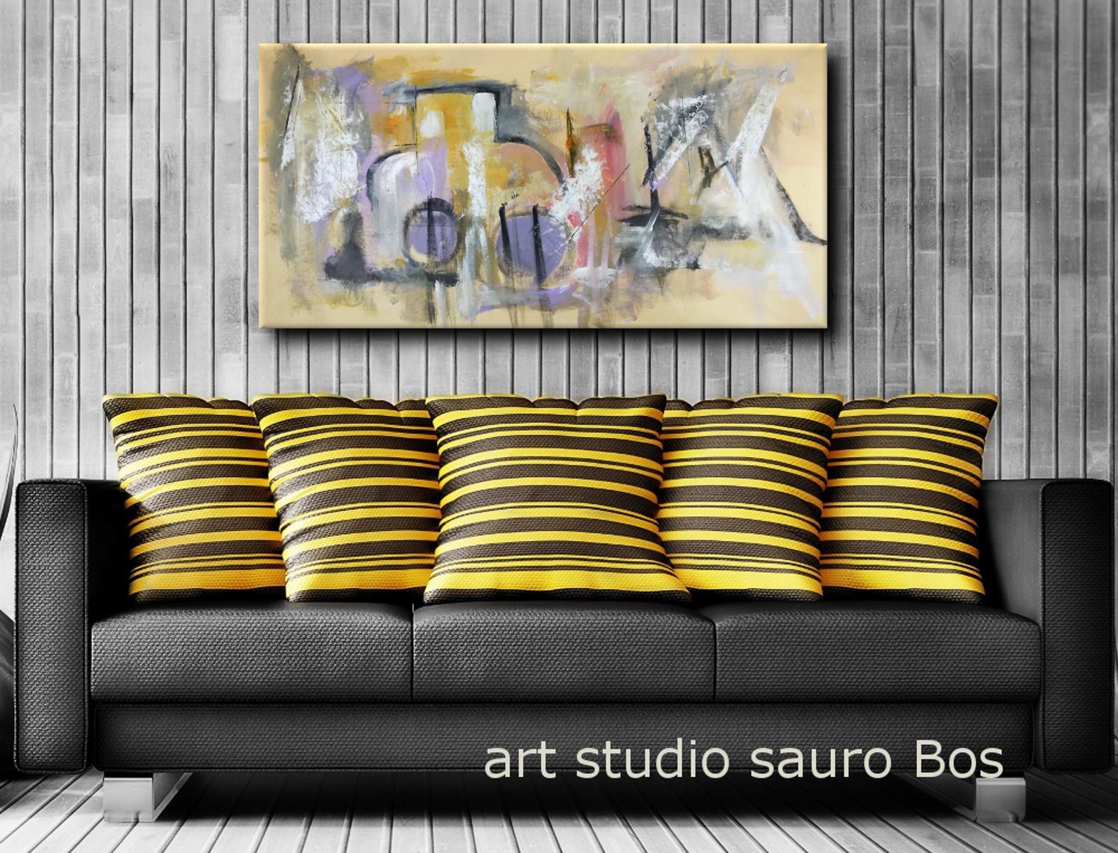 quadri su tela astratti c085 - dipinti grandi dimensioni astratti