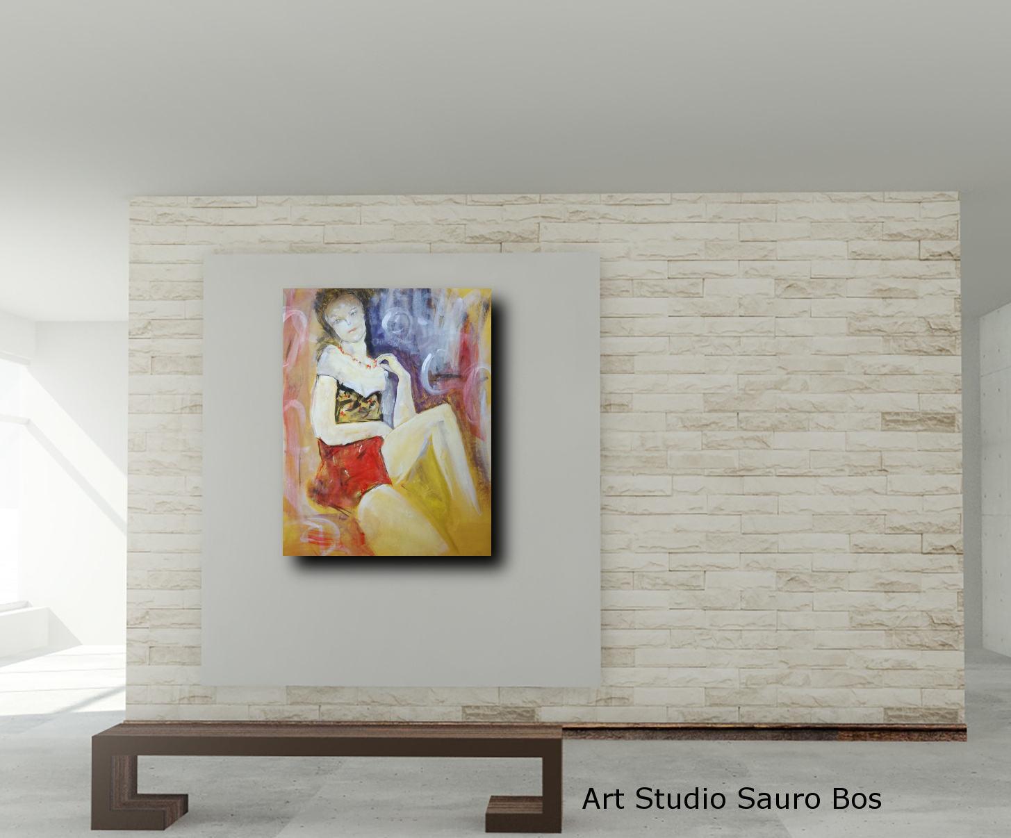 quadri moderni su tela 60x75 | sauro bos