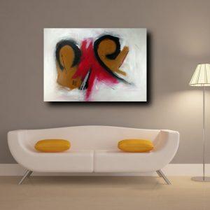 dipinti a mano su tela c130 300x300 - QUADRI ASTRATTI D'AUTORE