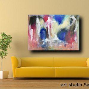dipinti astratti c119 300x300 - quadro astratto 150x80 per casa modena