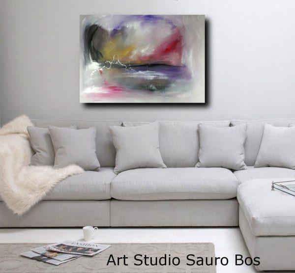 divano bianco-quadri-paesaggio-c124