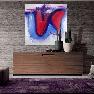 quadri astratti colorati c137 300x300 - quadri moderni per salotto