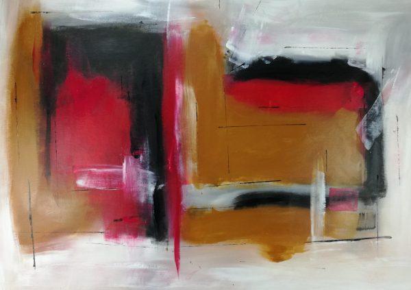 quadri-astratti-rosso-c129
