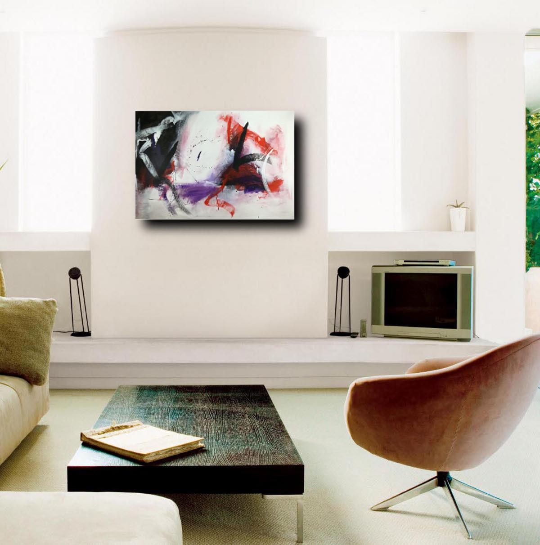 quadri astratti per arredamento moderno 120x80   sauro bos