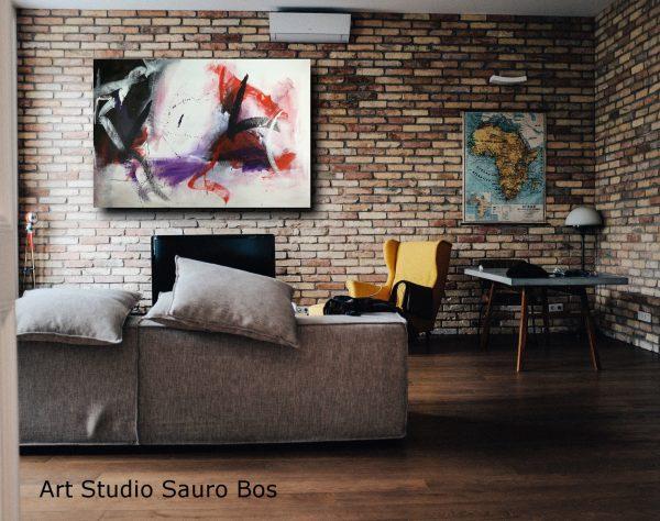 quadri astratti su tela ad olio 600x474 - quadri astratti per arredamento moderno 120x80