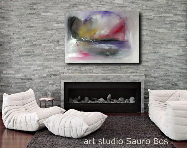 quadri moderni su tela c124 600x475 - quadro pronto da appendere 100x70