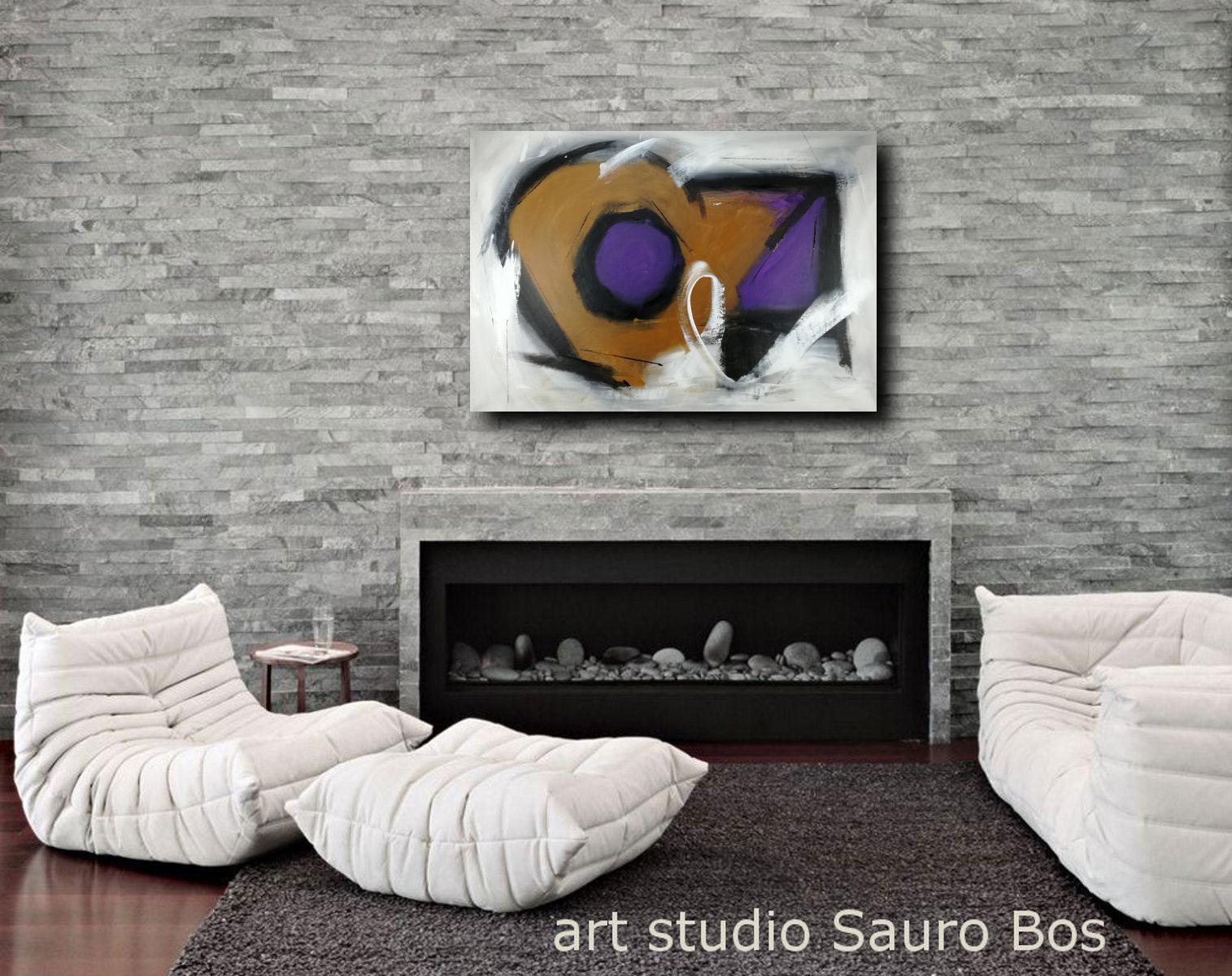 quadri-moderni-viola-rosso-c140