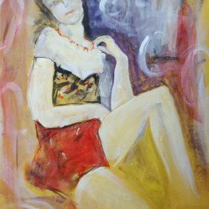 woman d004 300x300 - quadri moderni su tela 60x75