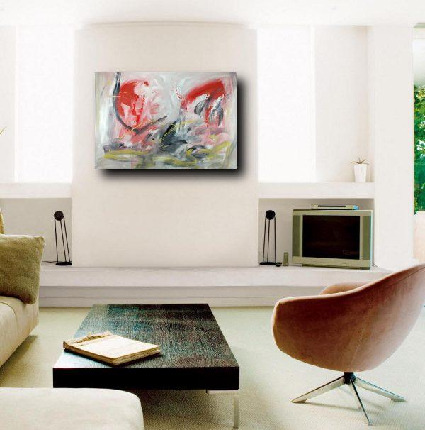 quadri astratti moderni su tela c223 600x606 - quadro su tela 120x80