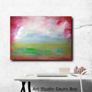 quadri-moderni-paesaggi-rosso-c142