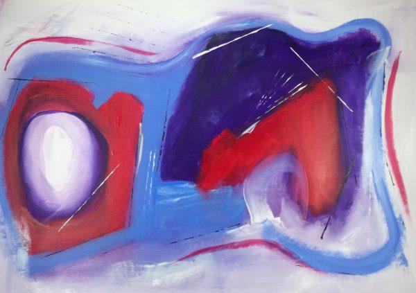 quadri-rossi-astratti-su-tela-c139-c139