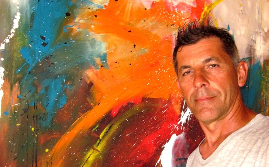 banenr sauro bos - quadri grandi dipinti a mano su tela