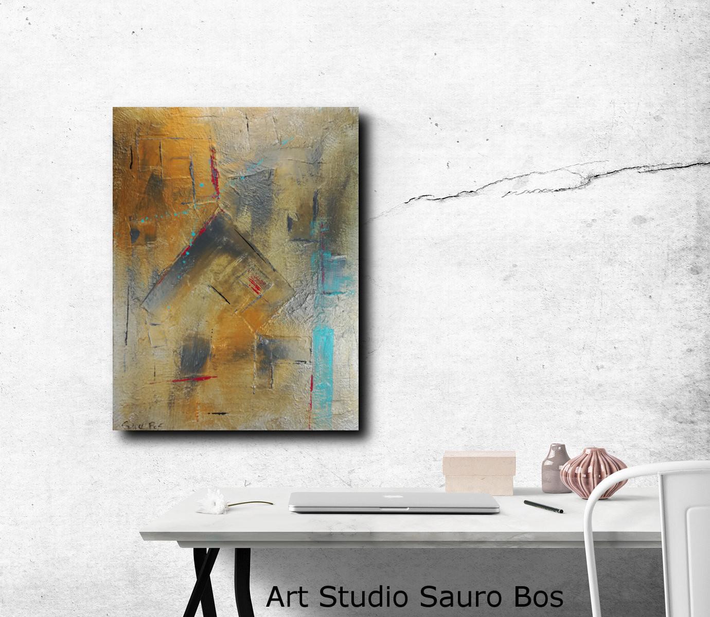 quadri moderni in rilievo 80x60 | sauro bos