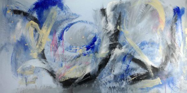 quadri astratti orizzontali c163 600x300 - dipinto astratto quadro  120x60