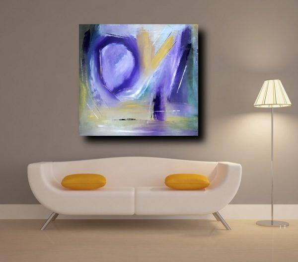 quadri astratti su tela c151 600x527 - quadri-moderni-per soggiorno-80x80 viola