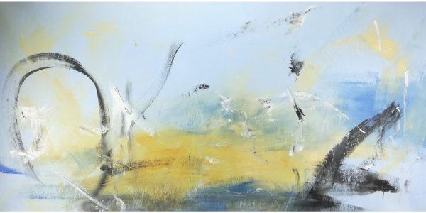 quadri astratti su tela c162 600x300 - paesaggio astratto quadro  120x60