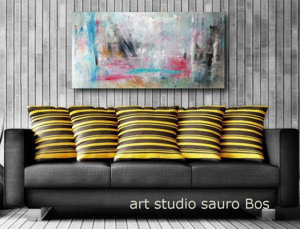 quadri moderni astratti salotto c156 600x458 - quadri  astratti informali 120x60