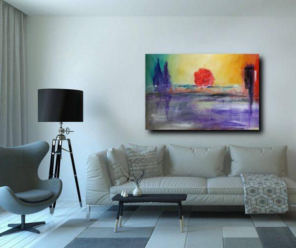 quadri moderni c149 600x503 - quadro su tela 120x80 paesaggio