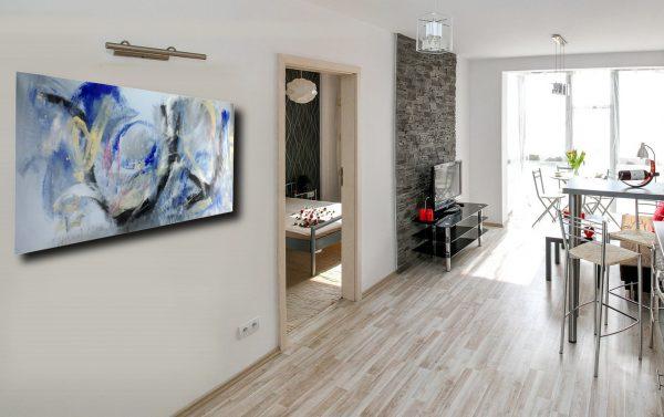 quadri moderni cucina c163 600x377 - dipinto astratto quadro  120x60