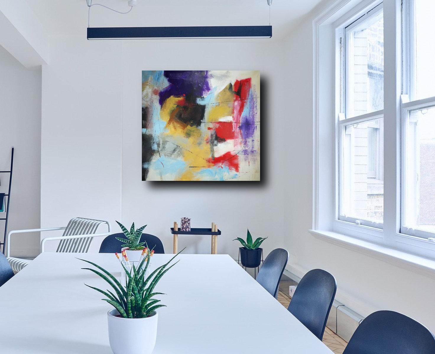 quadri su tela per arredamento moderni grandi dimensioni