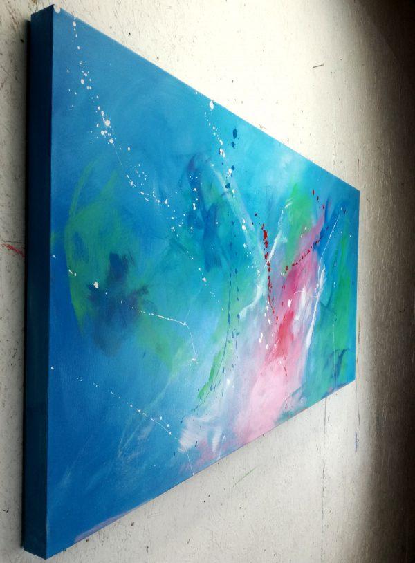 quadri astratti moderni su tela c206 600x814 - dipinto astratto su tela ble azzurro 120x60