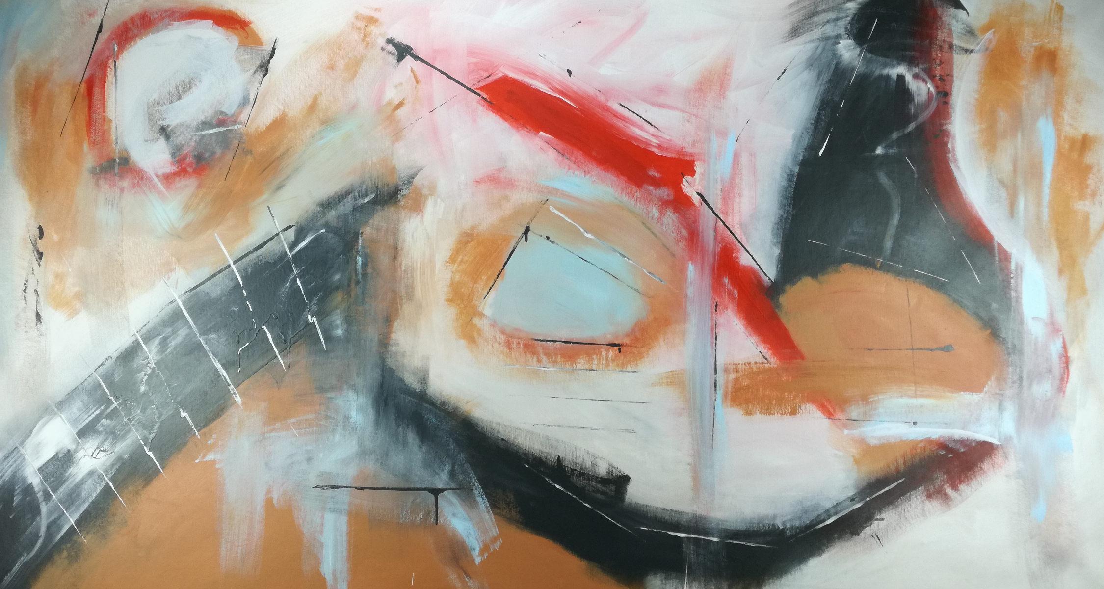 quadri astratti grandi dimensioni su tela 150x80 | sauro bos
