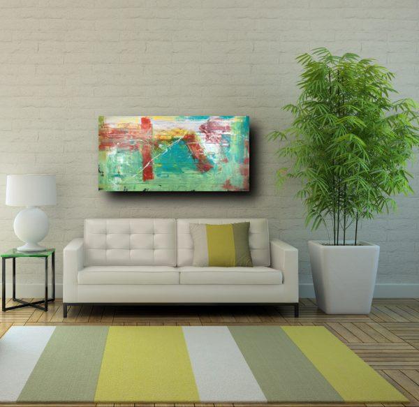 quadri astratti su tela moderni grandi c199 600x583 - quadro astratto su tela grandi 120x60 verde