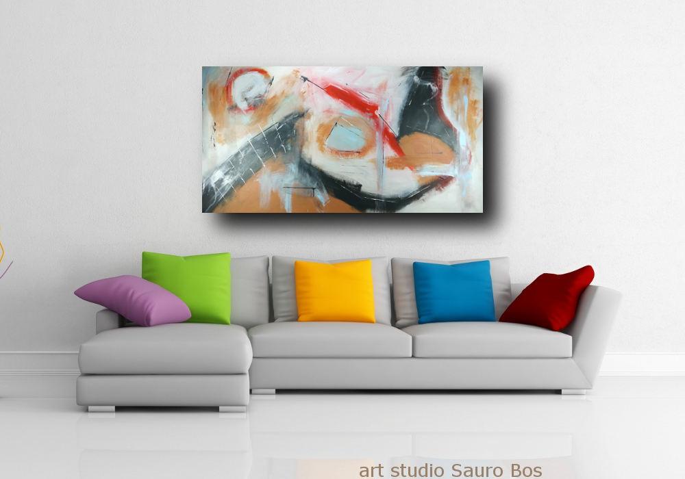 quadri dipinti a mano su tela c191 - quadri moderni per salotto