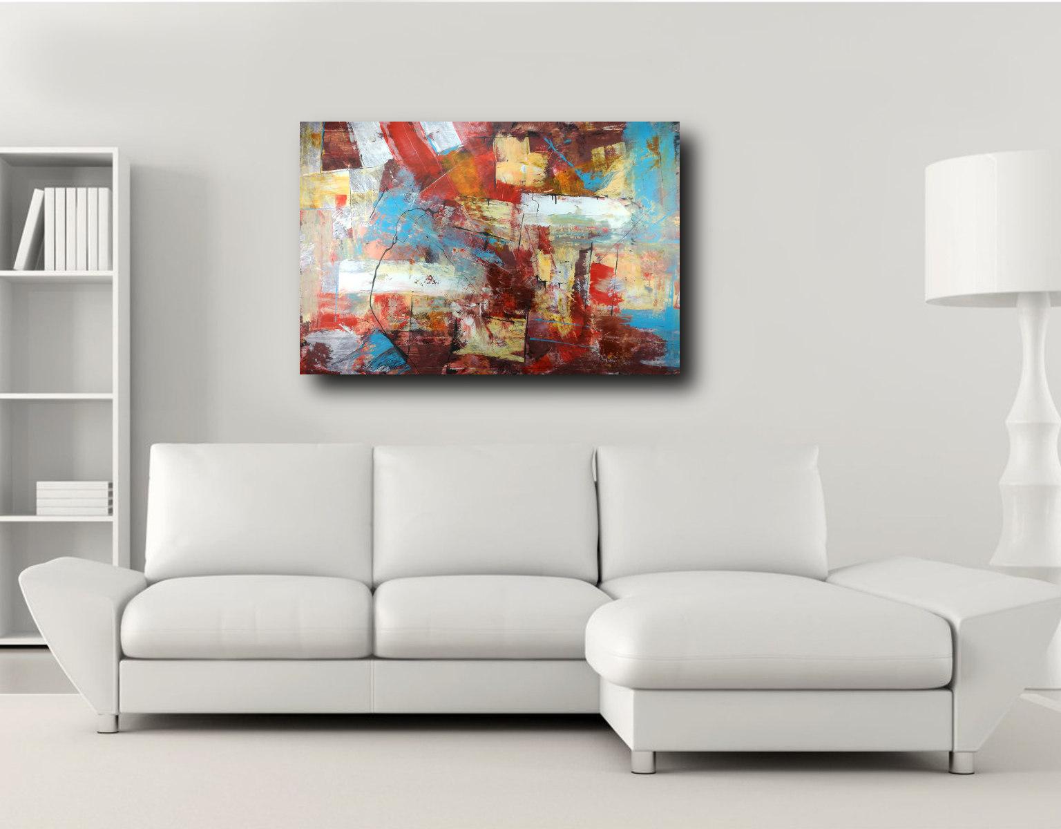 quadri grandi per soggiorno i 120x80 sauro bos