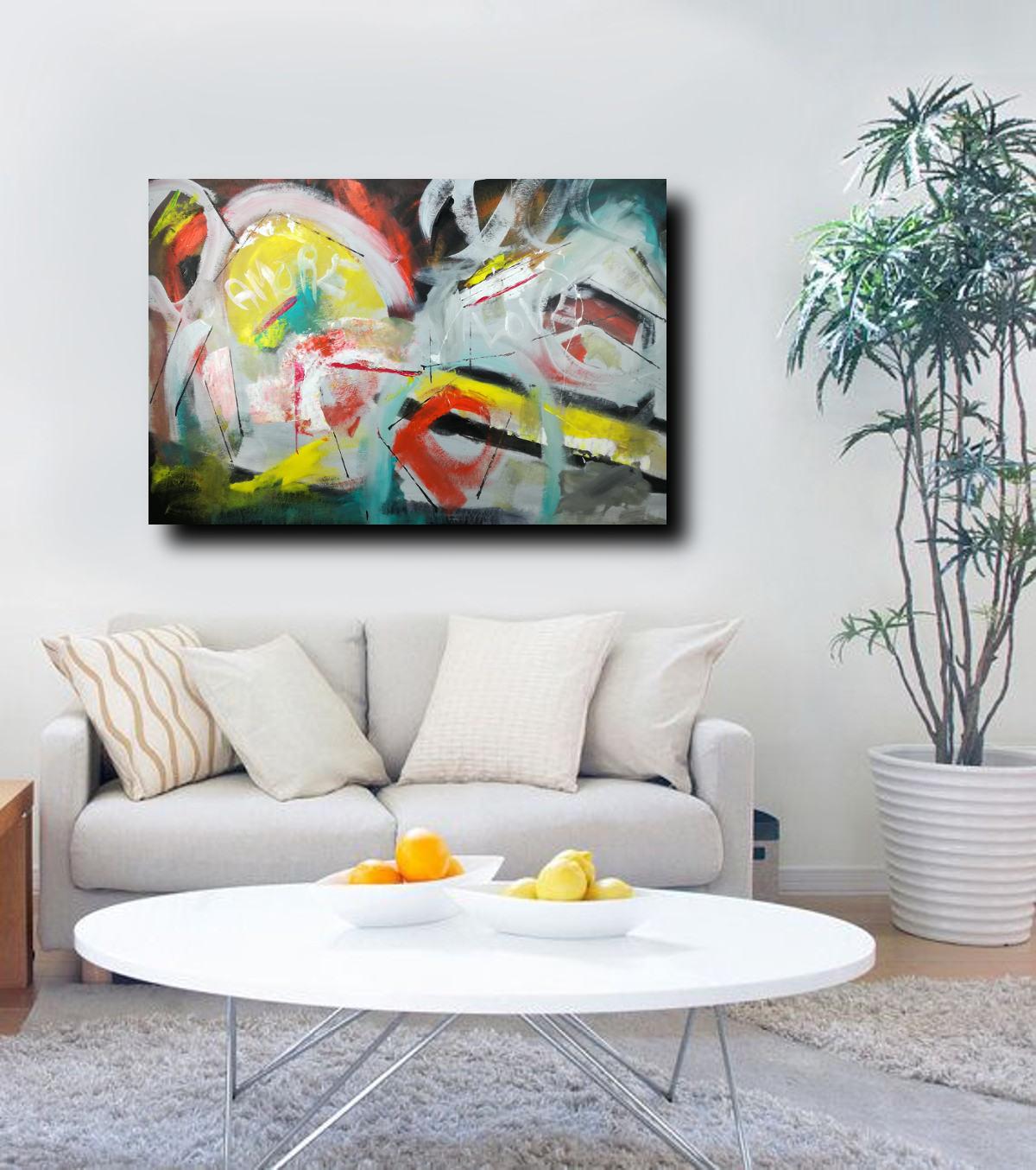 quadri moderni grandi dimensioni 120x80 | sauro bos