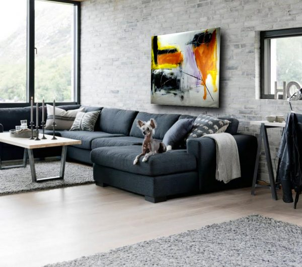 quadri moderni astratti grandi c186 600x530 - quadri su tela  per arredamento moderno 120x120