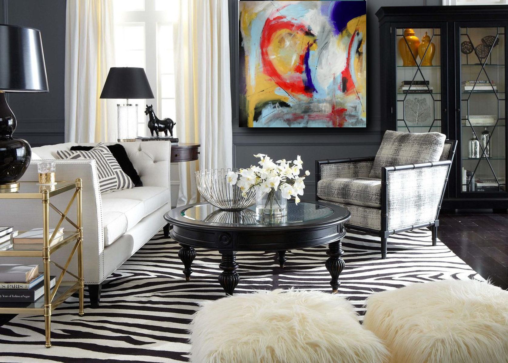quadri su tela per arredamento grandi misure 120x120 | sauro bos