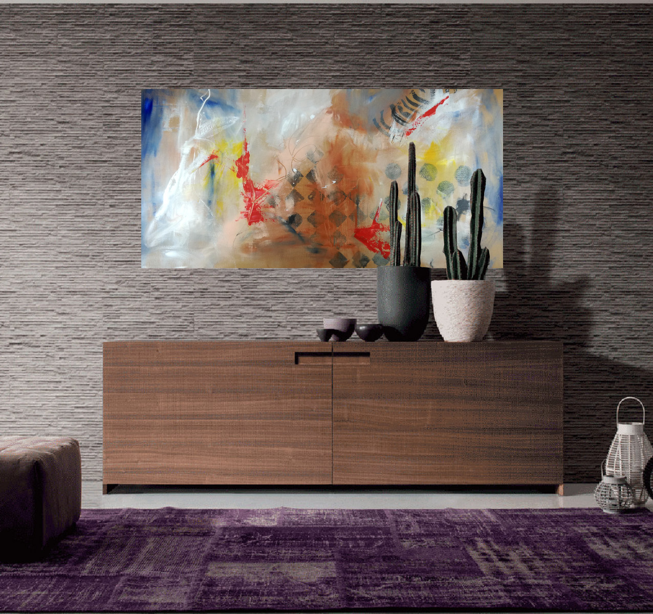 quadri per case moderne 120x60 | sauro bos