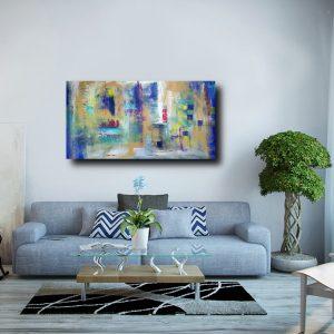 quadri astratti geometrici per arredamento moderno c211 300x300 - quadro-su tela geometrico 120x80