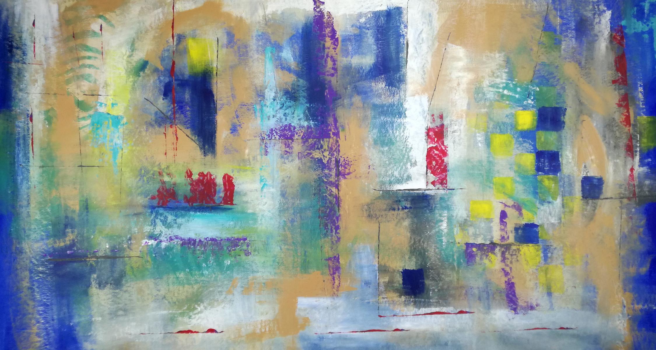 quadri astratti su tela 150x80 | sauro bos