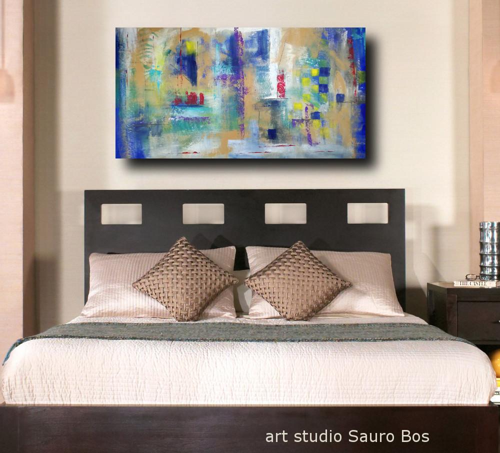 quadri per camera da letto astratti | sauro bos