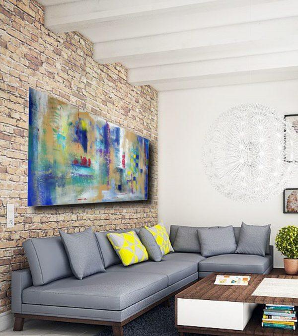 quadro astratto per soggiorno c211 600x677 - quadri astratti su tela 150x80