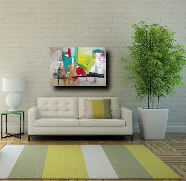 dipinti astratti su tela moderni c239 600x583 - quadro astratto su tela 120x80  fatto a mano