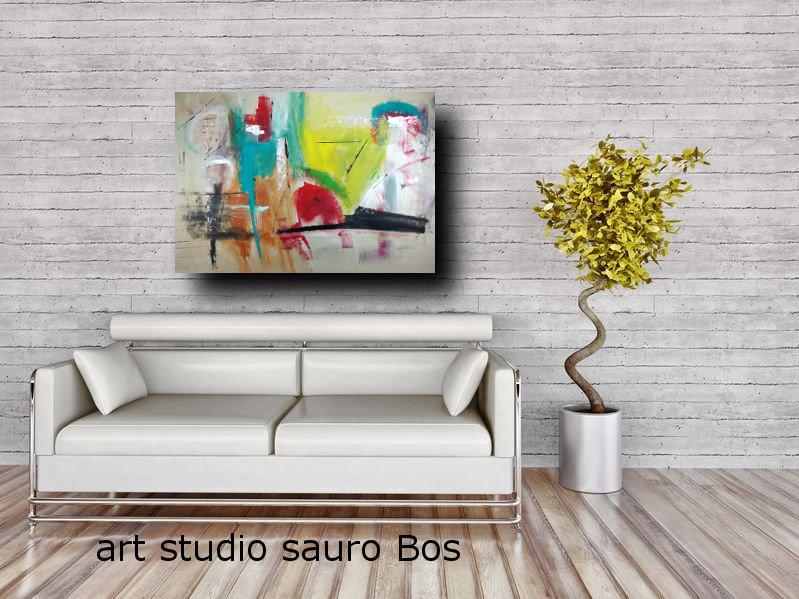 dipinti moderni su tela astratti c239 - quadri moderni da soggiorno