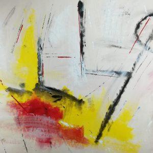 quadri astratti su tela c234 300x300 - quadri astratti su tela 150x80 giallo